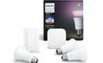 Ontvang tot € 30 cashback op de Hue Starter kits van Philips bij dmLights