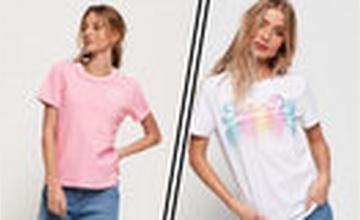 2e T-shirt met 50% korting bij Superdry